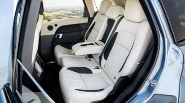 Range Rover Sport P400e - rear seats