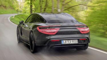 Porsche Taycan - rear