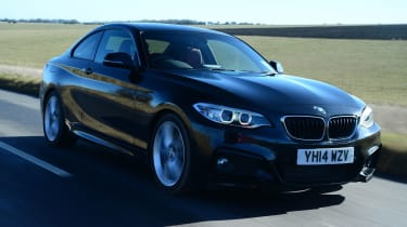 BMW 2 Series M Sport - front tracking