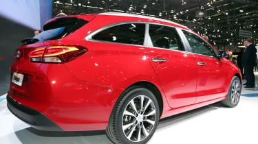 Hyundai i30 Tourer Geneva show - rear
