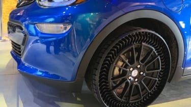 Michelin airless tyre - front