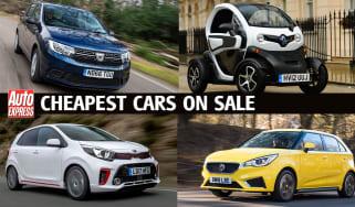 cheapest cars header