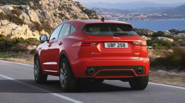 Jaguar E-Pace Chequered Flag Edition - rear