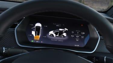 Tesla Model X - dials