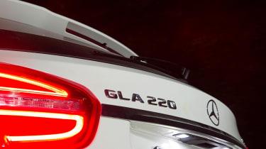 Mercedes GLA 220 CDI badge
