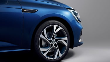 Renault Megane - blue wheel