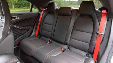Mercedes CLA 45 AMG 2013 rear seats