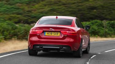 Jaguar XE 300 Sport - rear action
