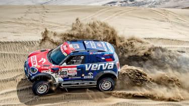 Dakar Rally - sand