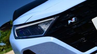 Hyundai i20 N - front light