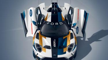 Ford GT Mk II - aerial doors open static