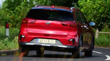 New Kia Niro Hybrid - rear action