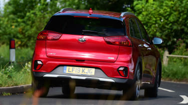 New Kia Niro Hybrid - rear action