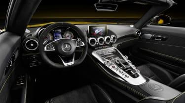 Mercedes-AMG GT S Roadster interior