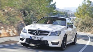 Mercedes C63 AMG Coupé front