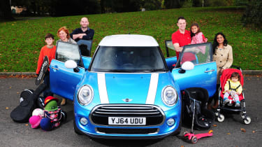 Two weeks, two families - and the new MINI