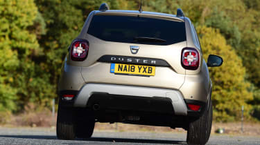 Dacia Duster - rear cornering