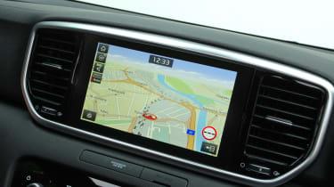 Kia Sportage 48V hybrid - sat-nav