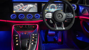 Mercedes-AMG GT 4-Door Coupe ambient lighting