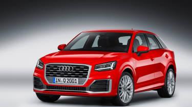 Audi Q2 Red front studio