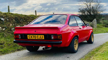 Ford Escort Mk2 - rear