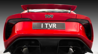 TVR Griffith - full rear