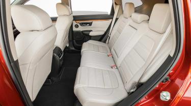 New Honda CR-V - rear seats
