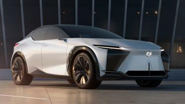 Lexus LF-Z Electrified concept - front static