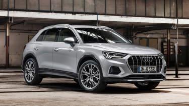 Audi Q3 - front silver