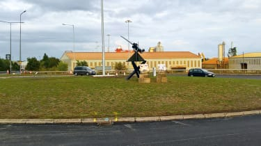 Gun roundabout, Goole