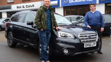 Long-term test review: Subaru Outback first report header