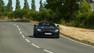 Aston Martin DBS Superleggera prototype - front panning