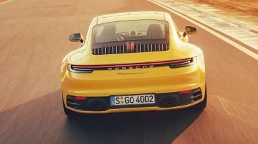 Porsche 911 - full rear