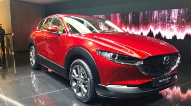 Mazda CX-30 Geneva front quarter