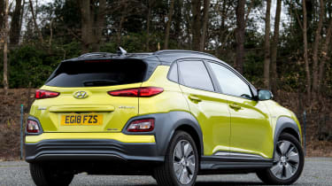 Hyundai Kona Electric rear static