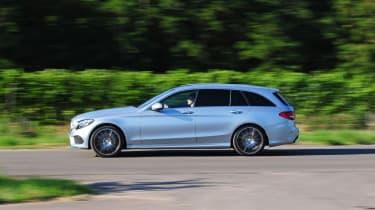 Mercedes C250 BlueTEC Estate AMG Line pan