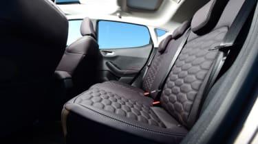 Ford Fiesta Vignale rear seats
