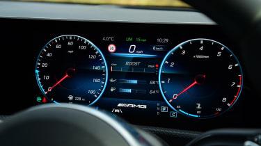 mercedes-amg a 35 dashboard digital dials