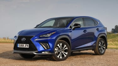Used Lexus NX - front static