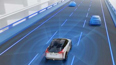 Nissan IMx concept - tech