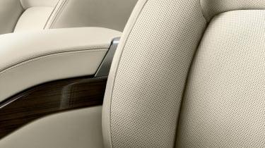 Updated Range Rover - seat detail
