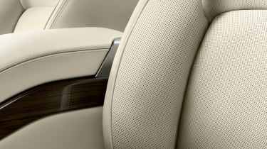 Updated Range Rover - seat detail