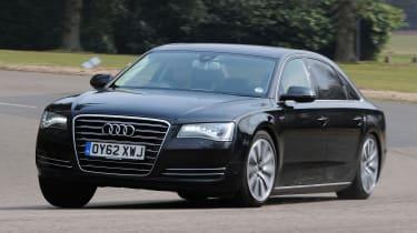 Audi A8 Hybrid - front