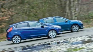 Used Ford Fiesta vs New Dacia Sandero - head-to-head