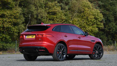 Jaguar F-Pace - rear static