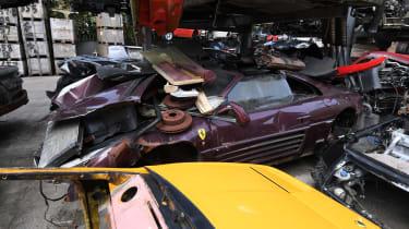Ferrari under car parts