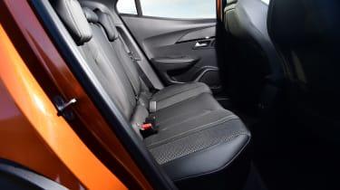 Peugeot 2008 - rear seats