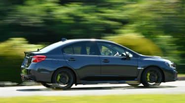 Subaru WRX STI - side action