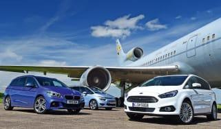 Ford S-MAX vs BMW 2 Series Gran Tourer & Citroen Grand C4 Picasso