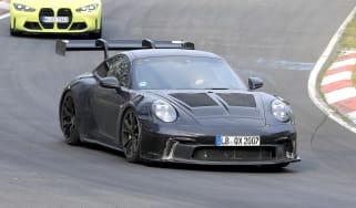 Porsche 911 GT3 RS spy 2021